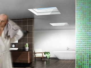Velux – bathroom scene